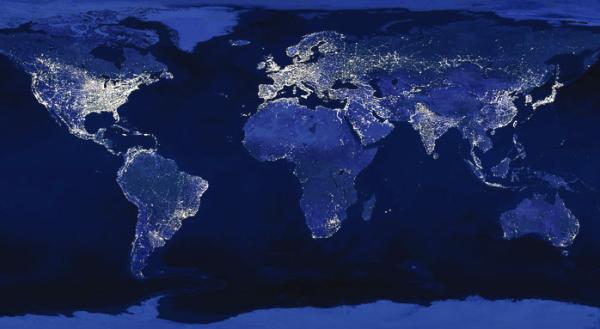 Cushman Wakefield Data Center Risk Index - World map data